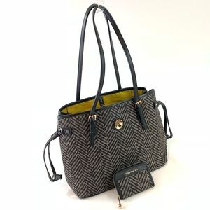 Spartina 449 tote purse and wallet combo